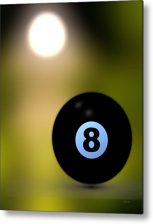 8 Ball Metal Print featuring the photograph In Front Of The Eight Ball by Bob Orsillo
