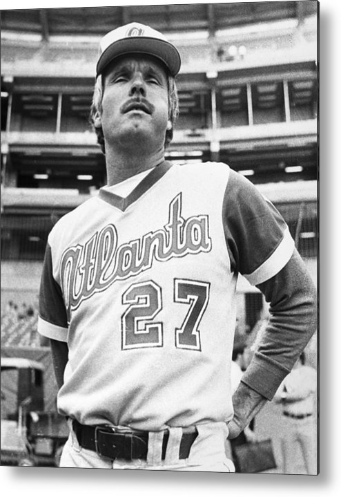 1977 Metal Print featuring the photograph Ted Turner (1938- ) by Granger