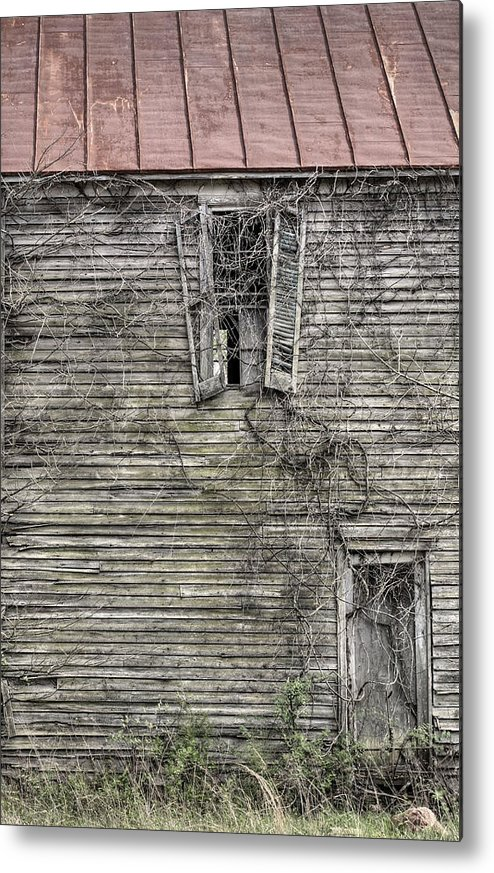 The Window Up Above Metal Print featuring the photograph The Window Up Above by JC Findley
