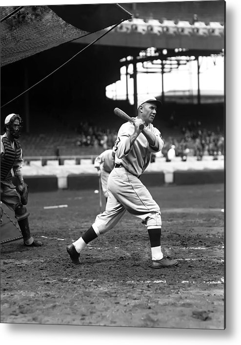 Baseball Metal Print featuring the photograph Harry H. Mccurdy by Retro Images Archive