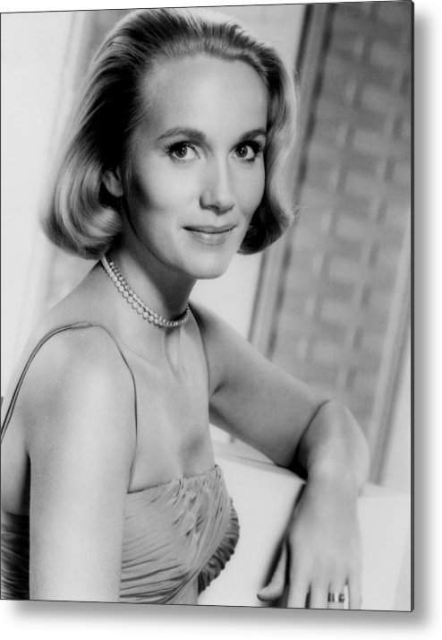1950s Portraits Metal Print featuring the photograph North By Northwest, Eva Marie Saint by Everett