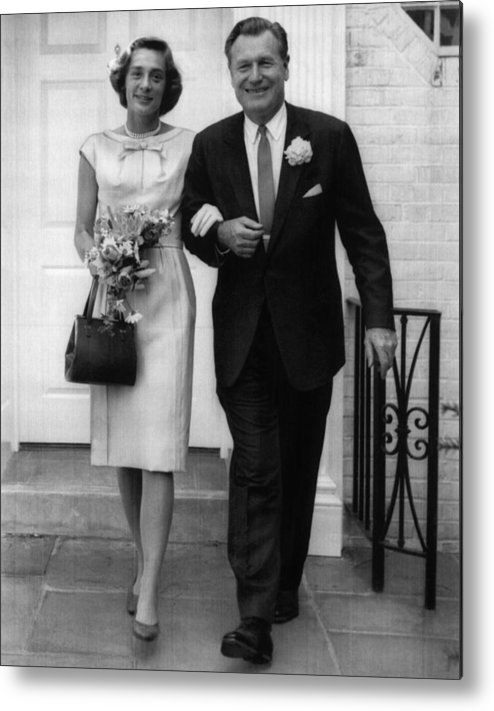 1960s Metal Print featuring the photograph Rockefeller Family. Future Second Lady by Everett