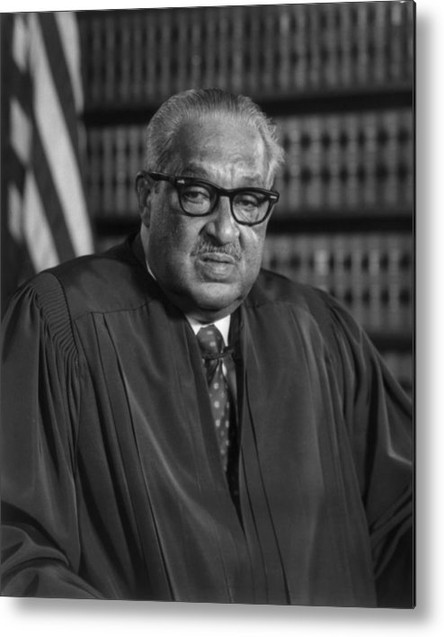 History Metal Print featuring the photograph Justice Thurgood Marshall 1908-1993 by Everett