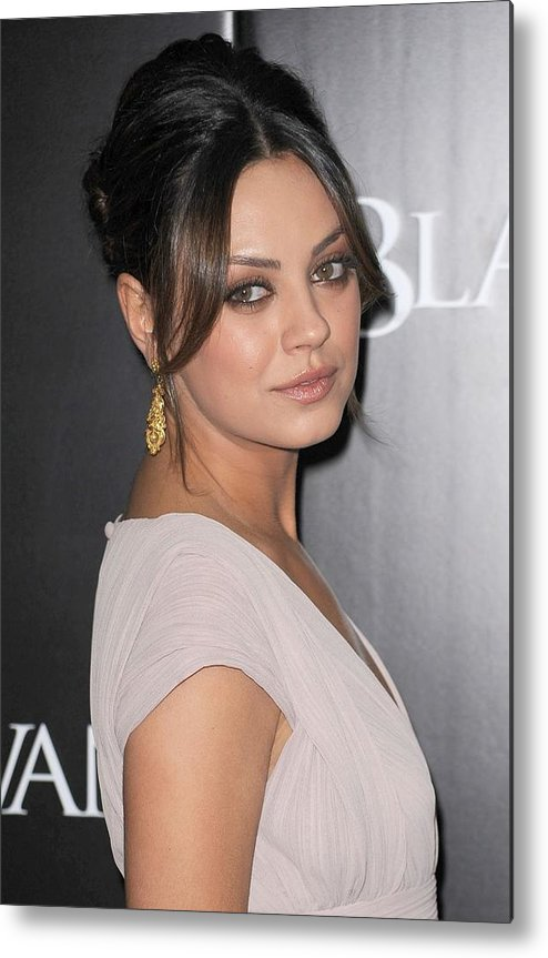 Mila Kunis Metal Print featuring the photograph Mila Kunis At Arrivals For Black Swan by Everett