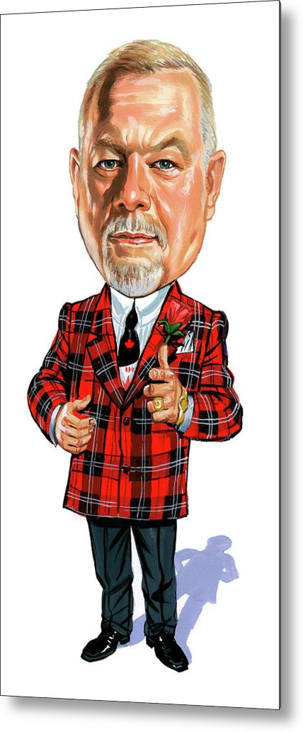 Don Cherry Metal Print featuring the painting Don Cherry by Art