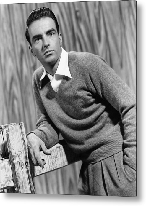 1950s Movies Metal Print featuring the photograph I Confess, Montgomery Clift, 1953 by Everett