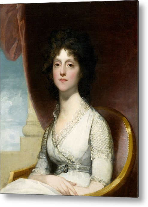 Female Metal Print featuring the painting Marianne Ashley Walker by Gilbert Stuart