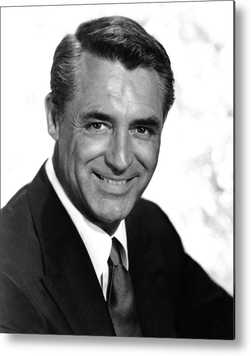 1950s Portraits Metal Print featuring the photograph To Catch A Thief, Cary Grant, 1955 by Everett