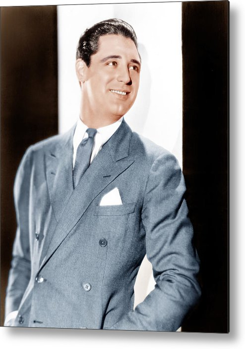 1930s Portraits Metal Print featuring the photograph Cary Grant, Ca. Early 1930s by Everett