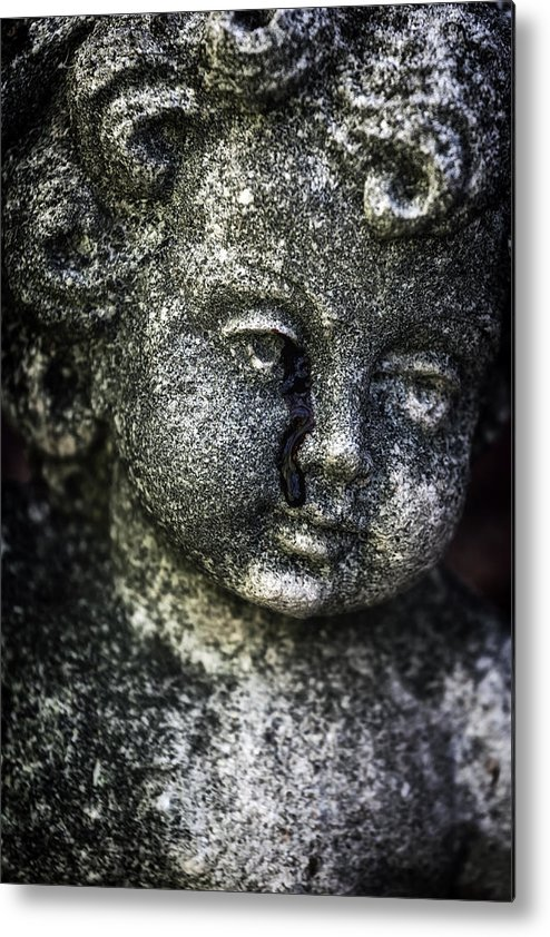 Stone Metal Print featuring the photograph Crying Blood by Joana Kruse