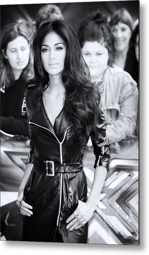 Jezcself Metal Print featuring the photograph Nicole Scherzinger 22 by Jez C Self