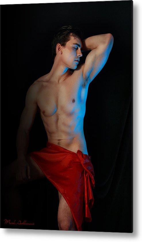 Male Nude Art Metal Print featuring the photograph Para Amar Segundo by Mark Ashkenazi