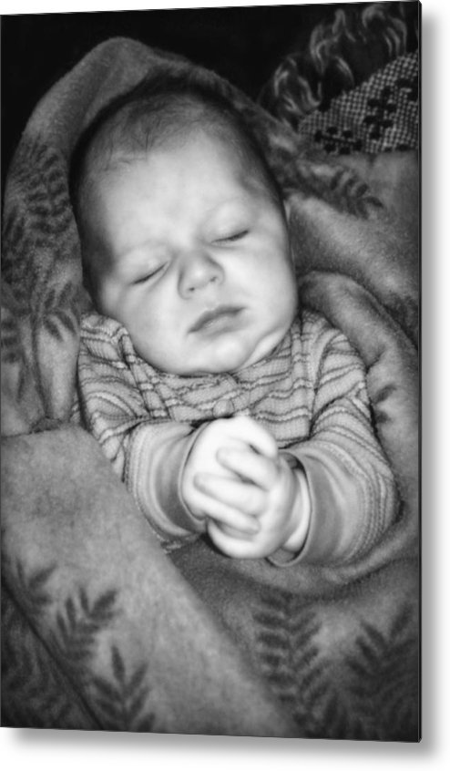 Baby Metal Print featuring the photograph Sweet Dreams by Susan Leggett