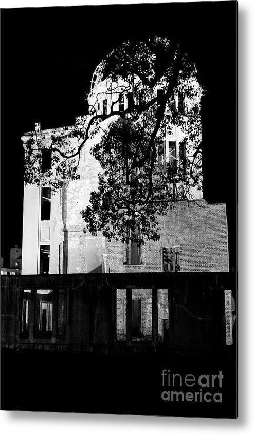 A-bomb Metal Print featuring the photograph A-bomb Dome by Dean Harte