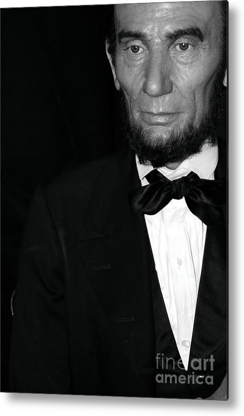Abraham Lincoln Metal Print featuring the photograph Abraham Lincoln by Sophie Vigneault