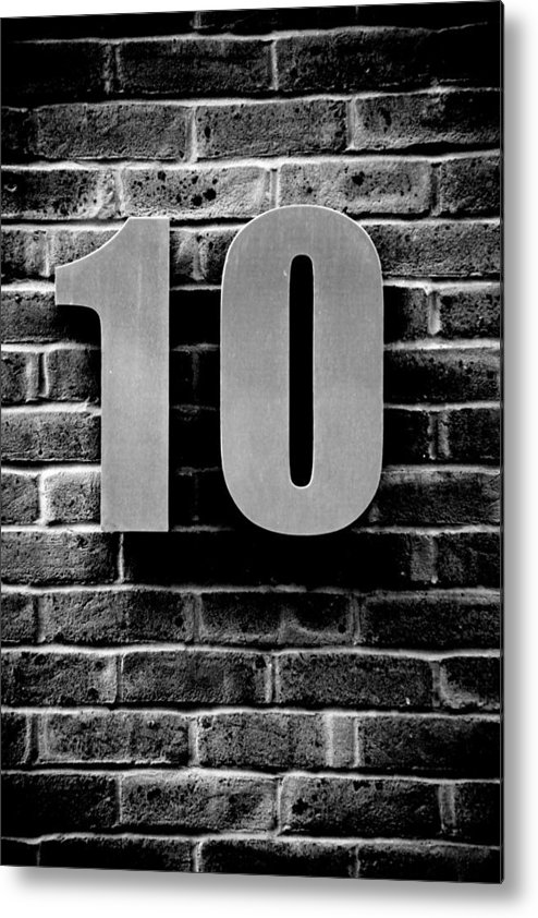 Jezcself Metal Print featuring the photograph At Number 10 by Jez C Self