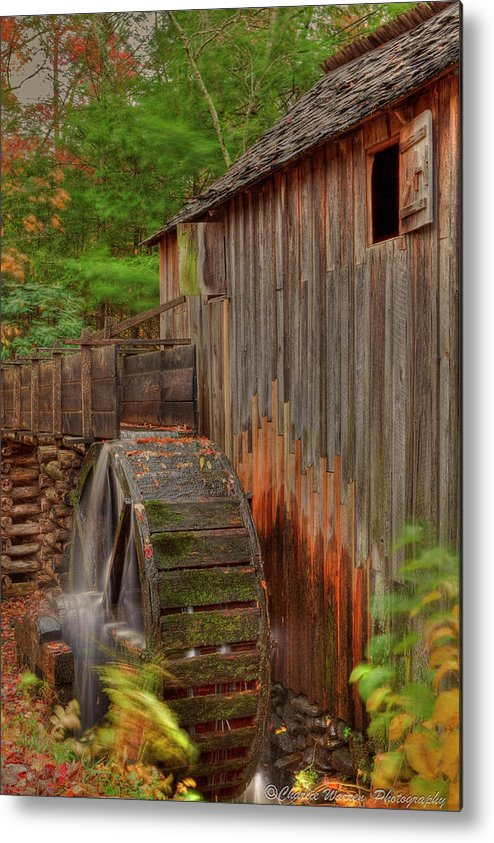 2010 Metal Print featuring the photograph Cable Mill II by Charles Warren