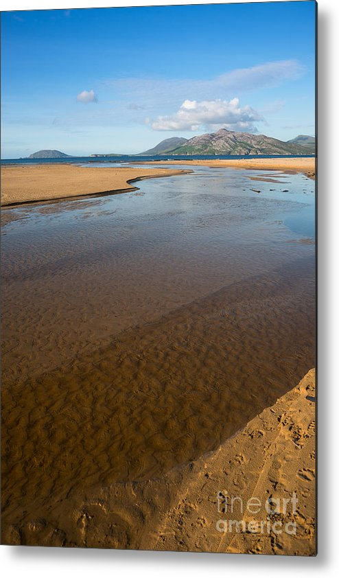 Coast Metal Print featuring the photograph Coastal View Ireland by Andrew Michael