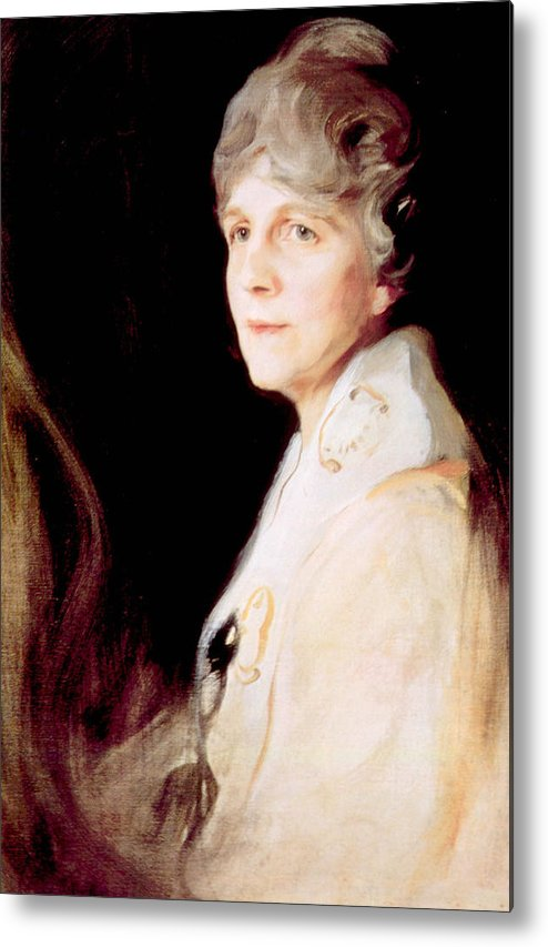 First Lady Metal Print featuring the photograph Florence Harding 1860-1924, First Lady by Everett