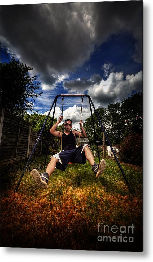 Yhun Suarez Metal Print featuring the photograph Swinger by Yhun Suarez