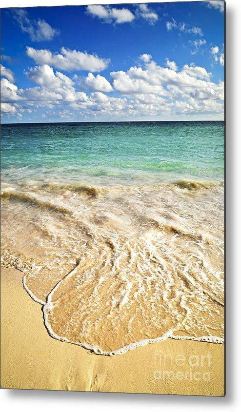 Beach Metal Print featuring the photograph Tropical Beach by Elena Elisseeva