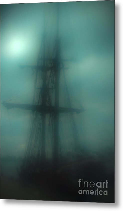 Blue Metal Print featuring the photograph Dangerous Waters by Andrew Paranavitana