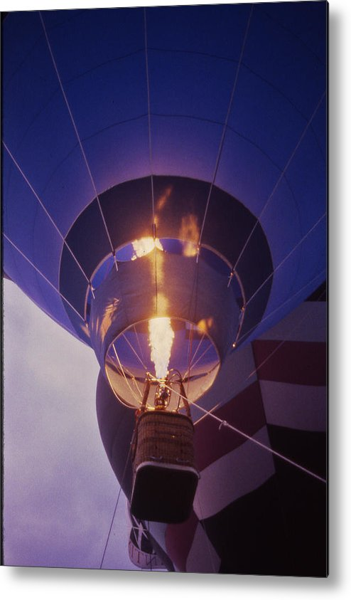 Tennessee Metal Print featuring the photograph Hot Air Balloon - 2 by Randy Muir