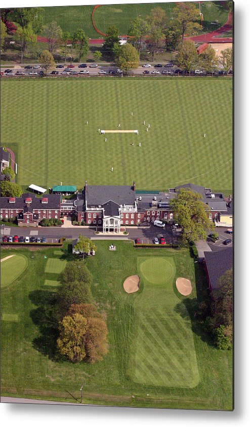 Pcc Metal Print featuring the photograph Philadelphia Cricket Club St Martins by Duncan Pearson