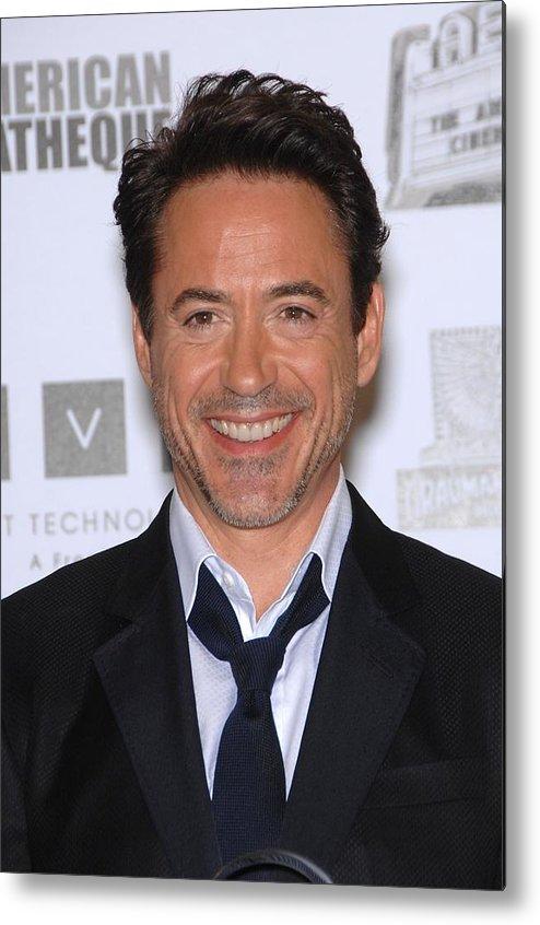 Robert Downey Jr. Metal Print featuring the photograph Robert Downey Jr. In Attendance by Everett