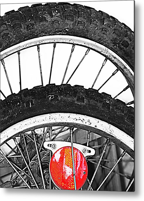 Elm Metal Print featuring the photograph Big Wheels Keep On Turning by JC Photography and Art