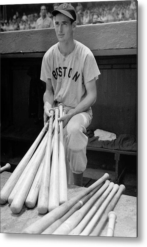 Ted Metal Print featuring the photograph Ted Williams by Gianfranco Weiss