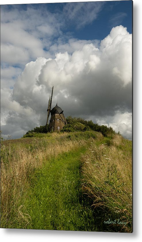 Windmill Metal Print featuring the photograph The Mill At Aarup by Robert Lacy
