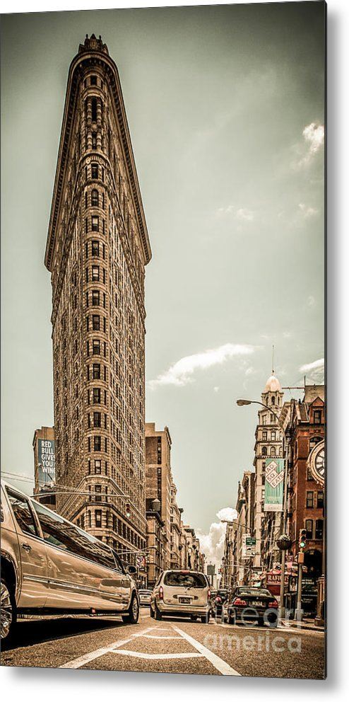 Nyc Metal Print featuring the photograph Big In The Big Apple by Hannes Cmarits