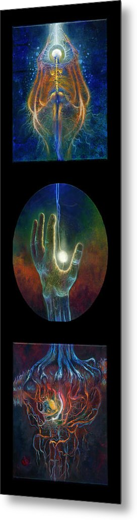 Dreams Metal Print featuring the painting Ascension Of The Soul by Kd Neeley