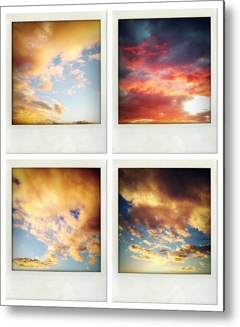 Cloud Metal Print featuring the photograph Skies by Les Cunliffe