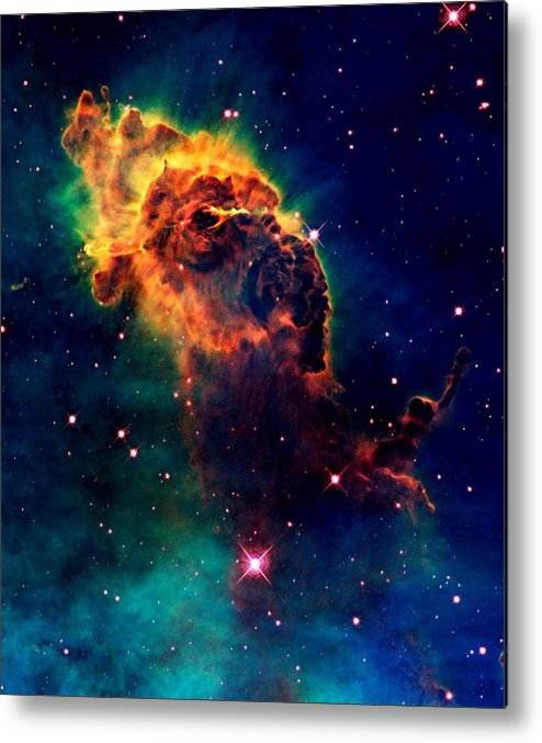 Hubble Metal Print featuring the photograph Jet In Carina by Amanda Struz