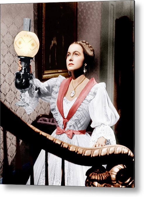 1940s Movies Metal Print featuring the photograph The Heiress, Olivia De Havilland, 1949 by Everett