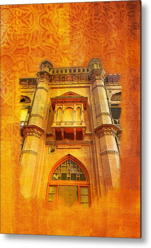 Pakistan Metal Print featuring the painting Aitchison College by Catf