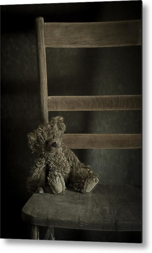Bear Metal Print featuring the photograph Left Behind by Amy Weiss
