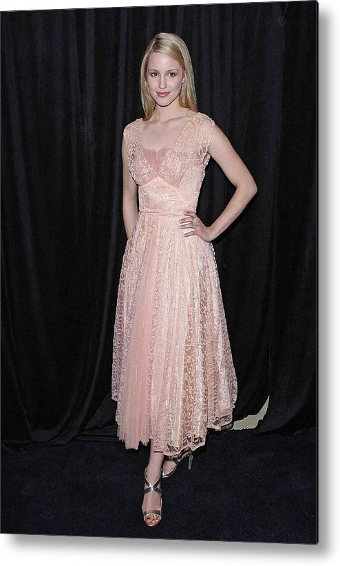 Dianna Agron Metal Print featuring the photograph Dianna Agron In Attendance For The 9th by Everett