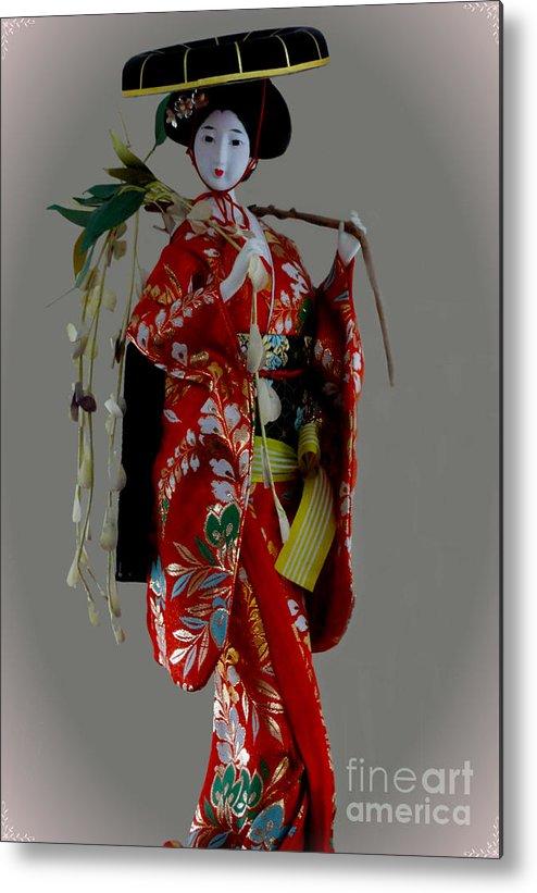 Al Bourassa Metal Print featuring the photograph Geisha Elegance by Al Bourassa