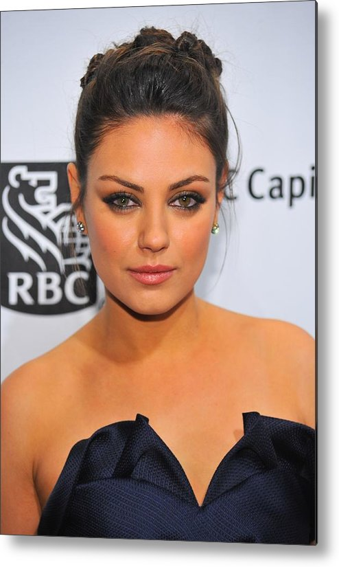 Mila Kunis Metal Print featuring the photograph Mila Kunis At Arrivals For Ifps 20th by Everett