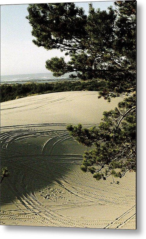 Oregon Dunes National Recreation Area Metal Print featuring the photograph Oregon Dunes 3 by Eike Kistenmacher