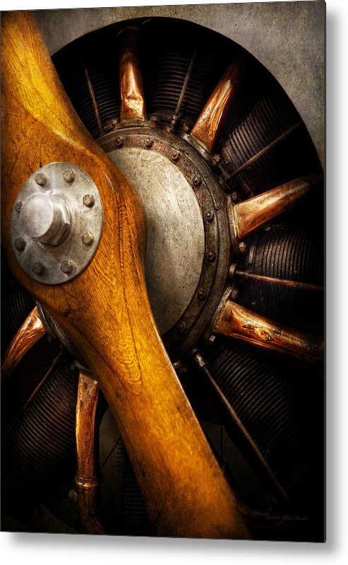 Propeller Metal Print featuring the photograph Air - Pilot - You Got Props by Mike Savad