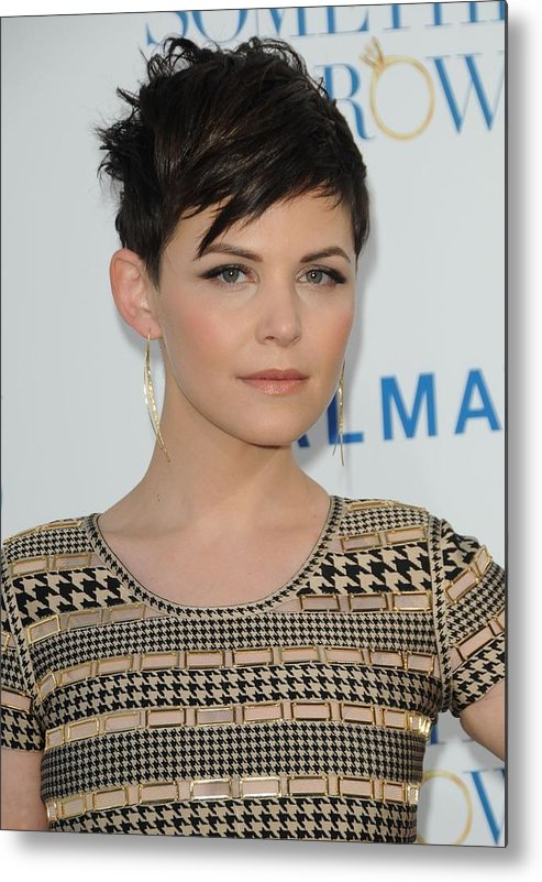 Ginnifer Goodwin Metal Print featuring the photograph Ginnifer Goodwin At Arrivals by Everett