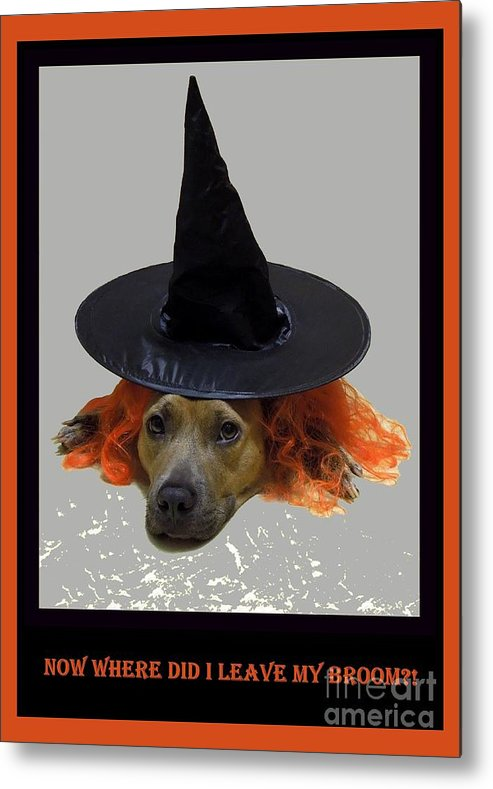 Halloween Metal Print featuring the photograph Forgetful by Renee Trenholm