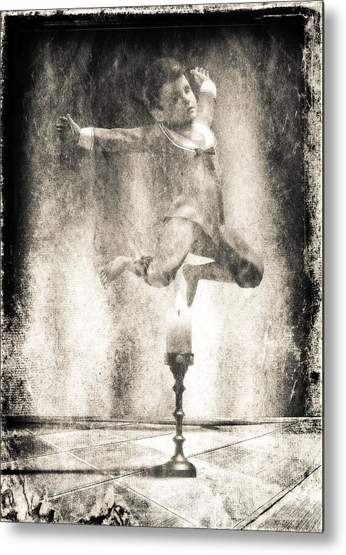 Candle Metal Print featuring the photograph Jack Be Quick by Bob Orsillo