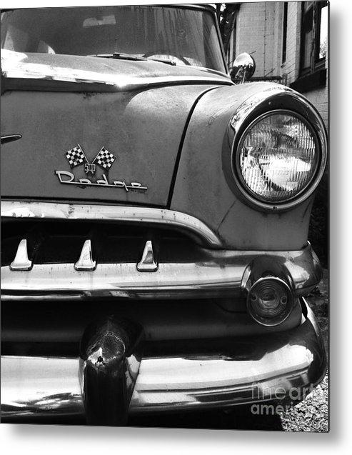 1956 Metal Print featuring the photograph 1956 Dodge 500 Series Photo 5 by Anna Villarreal Garbis