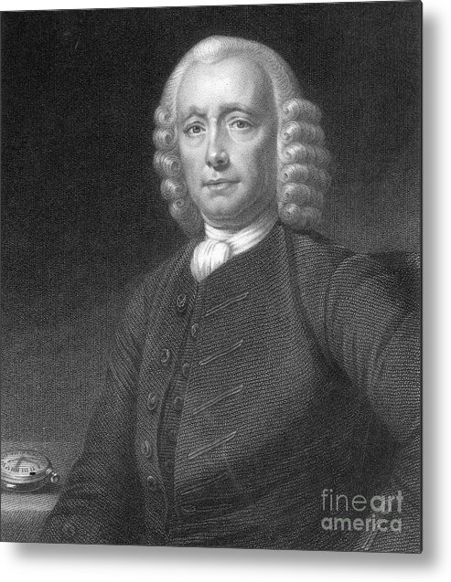 History Metal Print featuring the photograph John Harrison, English Inventor by Photo Researchers
