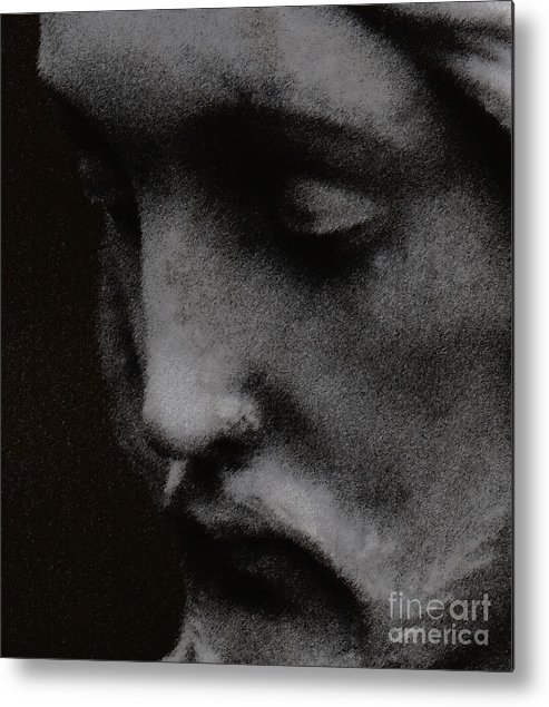 Statuary Metal Print featuring the photograph Gethsemane by Linda Shafer